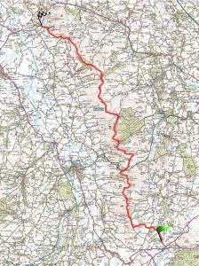 Clwydian Offas Dyke Route