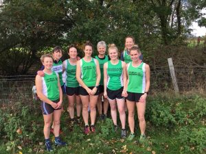 XC Baschurch 10.18 ladies